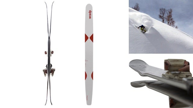 DPS Attempts to Reinvent the Deep Powder Ski with Cleats and Fat Spoons