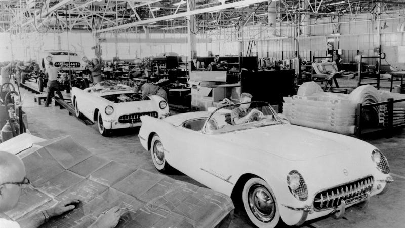 Celebrate The Corvette's 60th Birthday With These Historic Photos