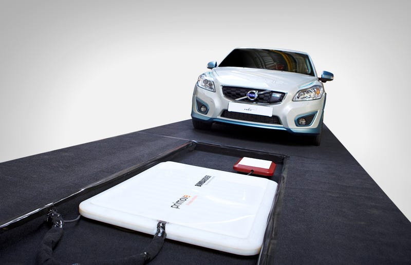 Volvo Car Group Completes Successful Study Of Cordless Charging For Electric Cars