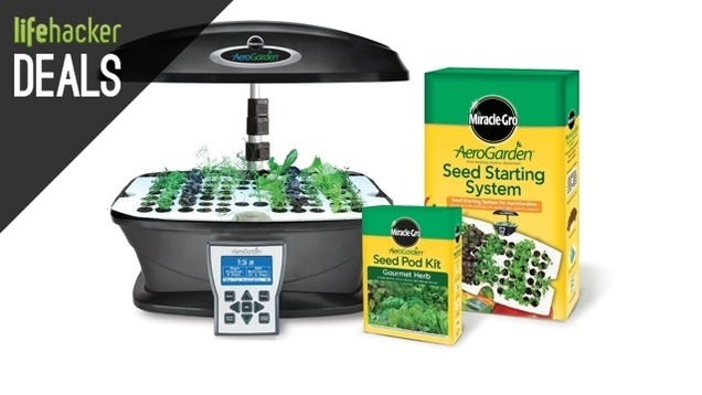Indoor Aeroponics Kit, $9 External Charger, iPad Mini Sale [Deals]