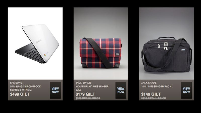 Samsung Chromebook Debuts on... Gilt Groupe?