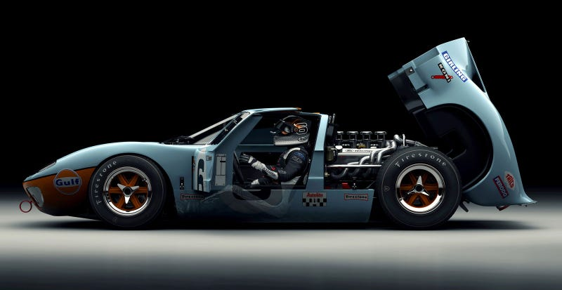 A Ford GT40 render so beautiful it'll make you dream in pixels
