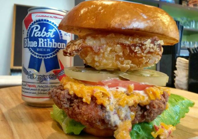 Exploding PBR Chicken Sandwich Debuts in Philly, Hipsters Rejoice