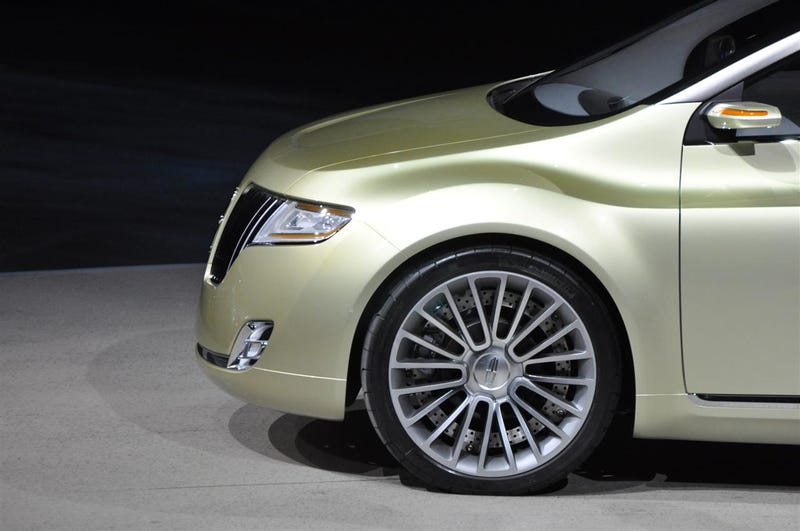 Lincoln C Concept: European Size, American Luxury