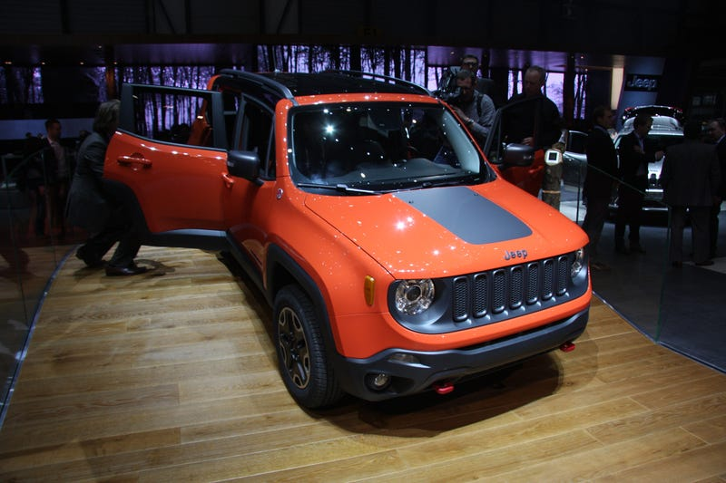 The 2015 Jeep Renegade Is Just As Cool Live