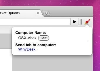 TabRocket Sends Tabs Between Remote Chrome Sessions