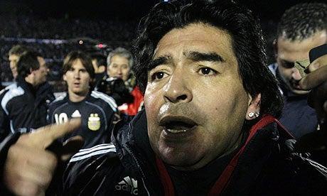 "Maradona Tells His Critics To ""Suck It"", Also ""Keep On Sucking it"""