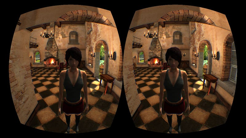 Playing Oculus Rift with Only One Eye