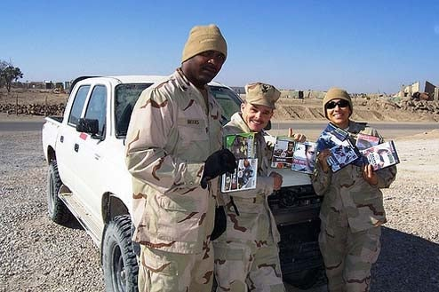 Still Collecting Games For Troops