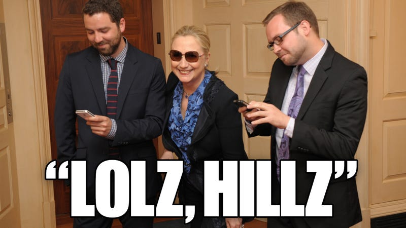 Hillary Clinton Makes Fun of Herself on Viral Site