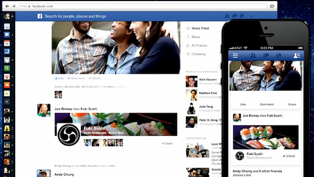 Facebook New News Feed Cuts the Clutter, Focuses on the Stuff that Matters