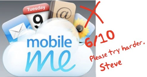 "MobileMe ""Not up to Apple's Standards,"" Says Steve Jobs"