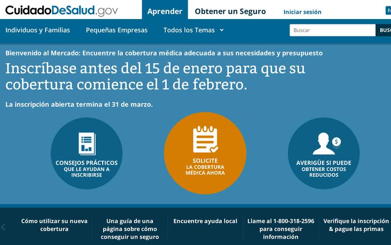Spanglish Obamacare Website Makes Less Sense Than a Telemundo Gameshow
