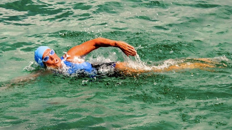 Diana Nyad Is Swimming from Florida to Cuba While the Rest of the Country Enjoys Its Pancakes