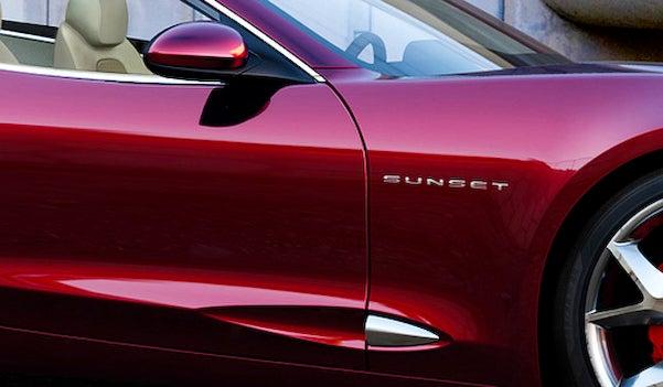 Fisker Sunset Concept Heading To Detroit