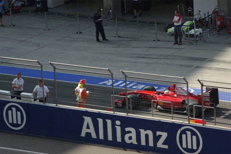 2009 Chinese Grand Prix, Day One: The Practice Sessions
