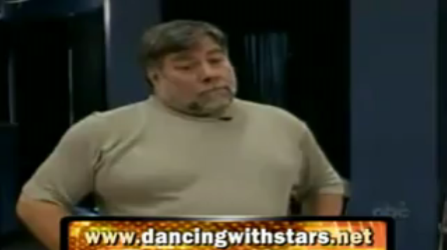 Woz Is Incapable of Dancing, Scowling