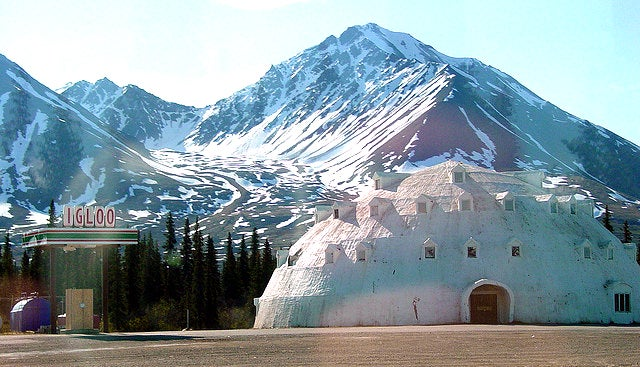 This Abandoned Igloo Hotel in Alaska Could Be Yours For $300,000