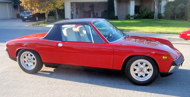 The Most Interesting Man In The World Is Selling His Porsche 914