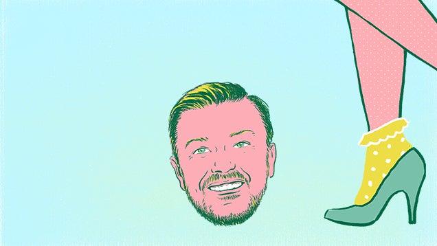 Ricky Gervais Broke My Heart