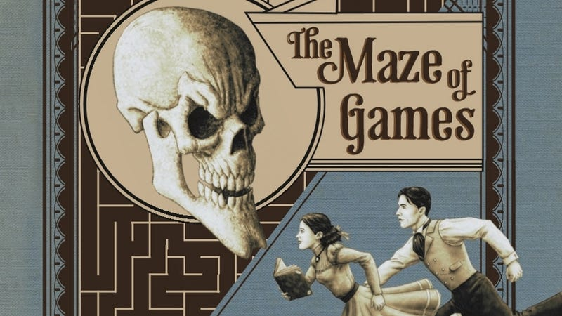 Enter The Maze of Games, A Novel Made Of Puzzles