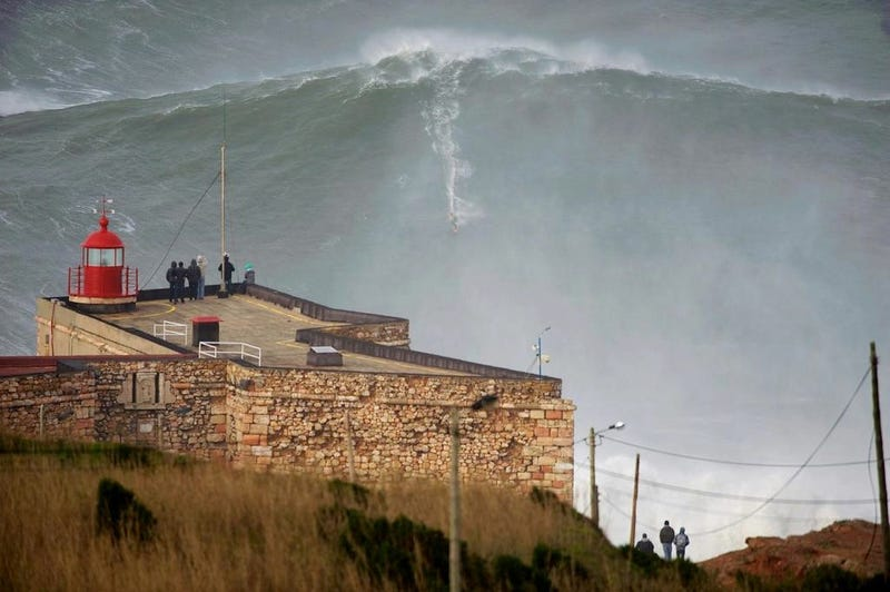 Insane Person Garrett McNamara May Have Ridden A 100-Foot Wave
