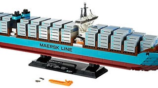 The biggest Maersk Lego set back in stock on Lego.com
