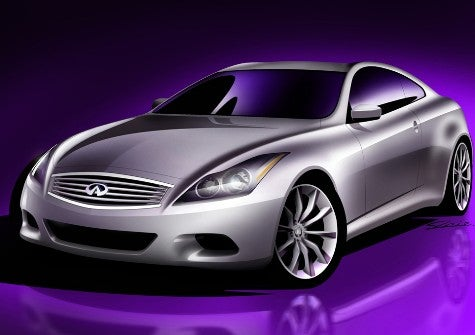 Quite Sketchy: Infiniti's Next G35