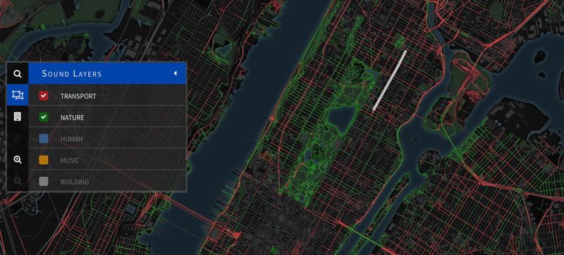 These Beautiful Maps Let You Explore How Your City Sounds