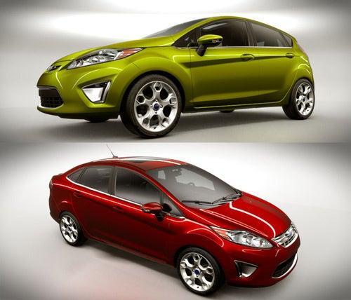 2011 Ford Fiesta U.S. Sedan, Hatchback Revealed Accidentally