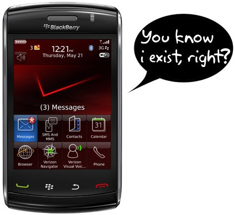 Crackberry's Take on Why Verizon Didn't Launch the Storm2 With RIM