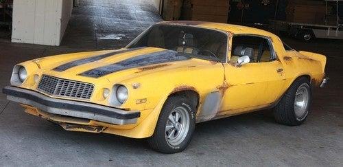 Bumblebee Camaro Auction: Photos