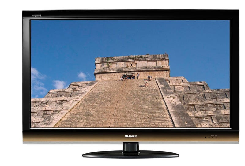Sharp E67U, E77U: LCD HDTV Up to 65 Inches