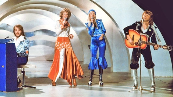 ABBA wore the outfits they wore to save taxes...
