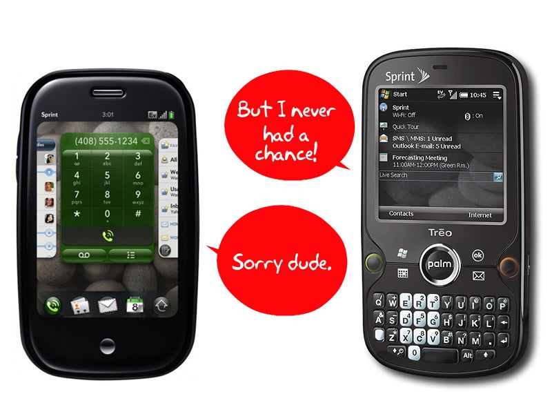 Should Sprint Drop the Palm Treo Pro With the Palm Pre On Its Way?