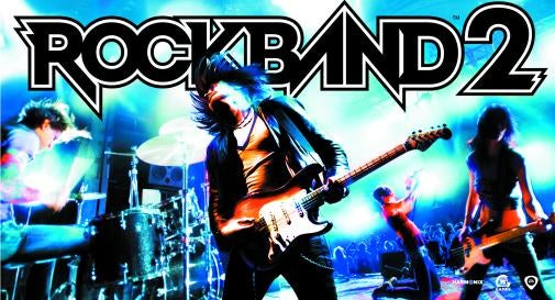 Rock Band 2 Features Drum Trainer, Wireless Instruments, Full Backwards Compatibility