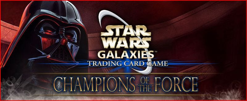 Star Wars Galaxies Trading Card Game Announced