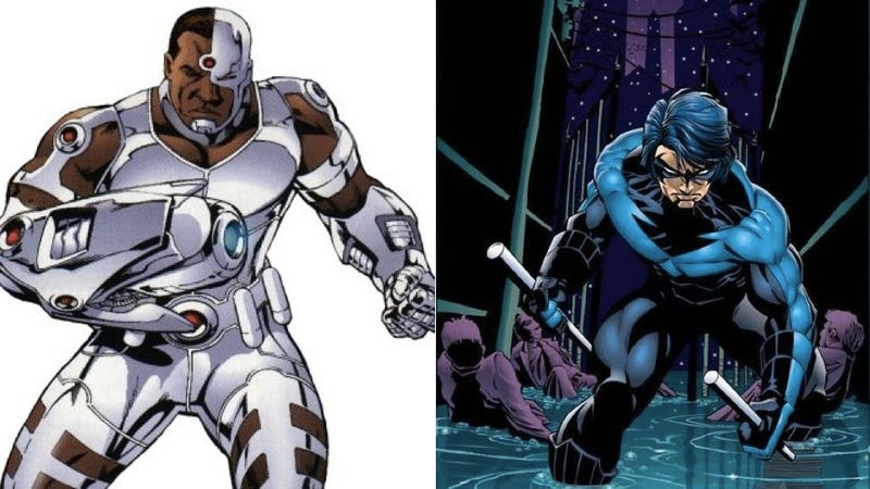Cyborg And Nightwing Join The Cast Of Injustice