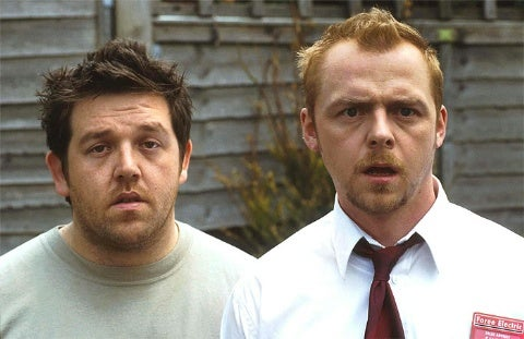 Pegg, Frost Retreat From Comic-Con Filming