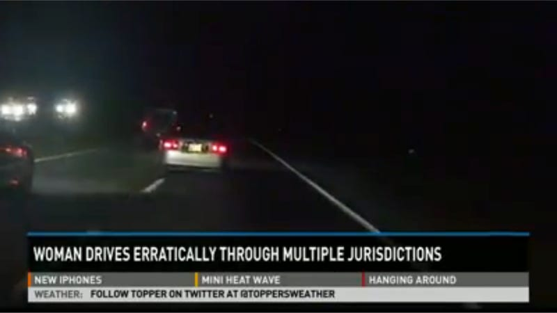 Photographer Tails Drunk Driver 40 Miles And Police Never Show Up