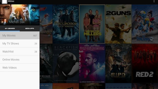 Mizuu Turns Your Android Device into a Good-Looking Media Center