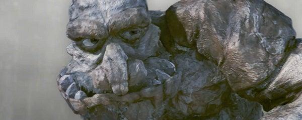 Terry Pratchett's Troll Bridge, as it was meant to be seen
