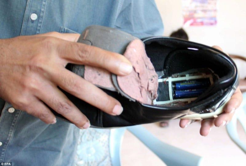 Pakistani Man Arrested After Massage Slipper Shoe Bomb Scare