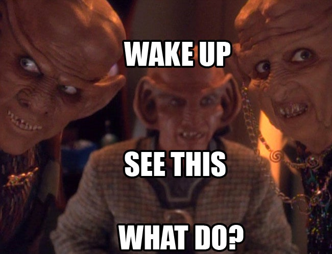 Why doesn't anybody use social media on Star Trek: Deep Space Nine?