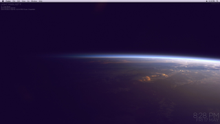 Desktop in Orbit
