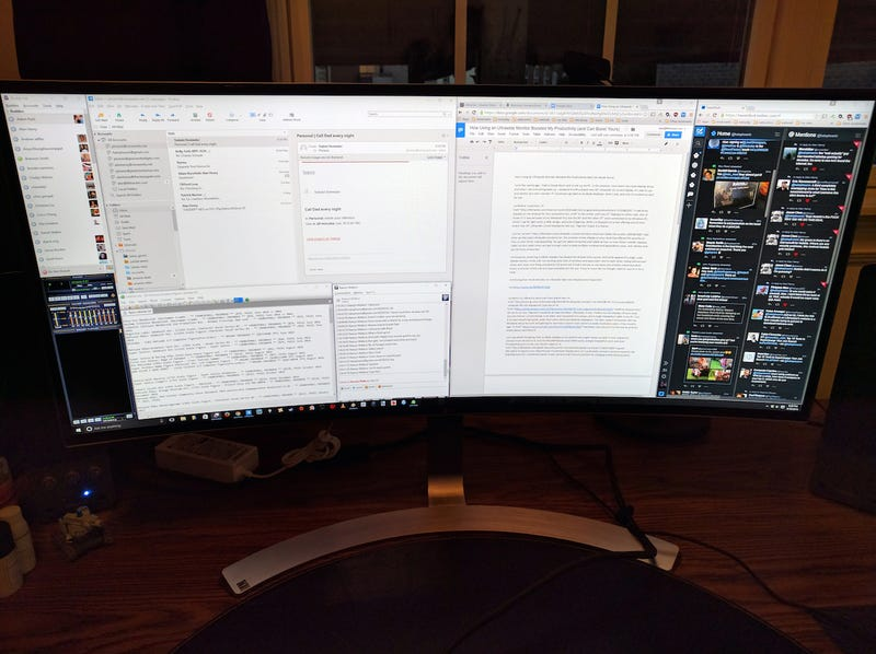 How Using an Ultrawide Monitor Boosted My Productivity (and Can Boost Yours)