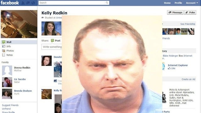 Creepy Old Guy Pretended to Be a Pretty Young Girl on Facebook to Solicit Child Porn