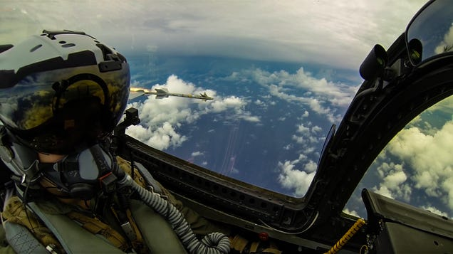 Spectacular photos taken by an F-18 weapons trainer officer