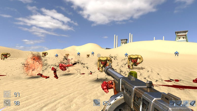 Serious Sam Reborn In HD For Xbox Live Arcade