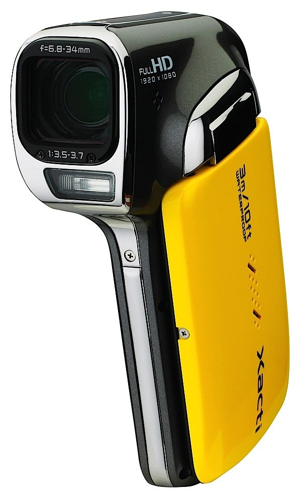 Sanyo's New Waterproof HD Camcorder: More Under the Sea Clarity